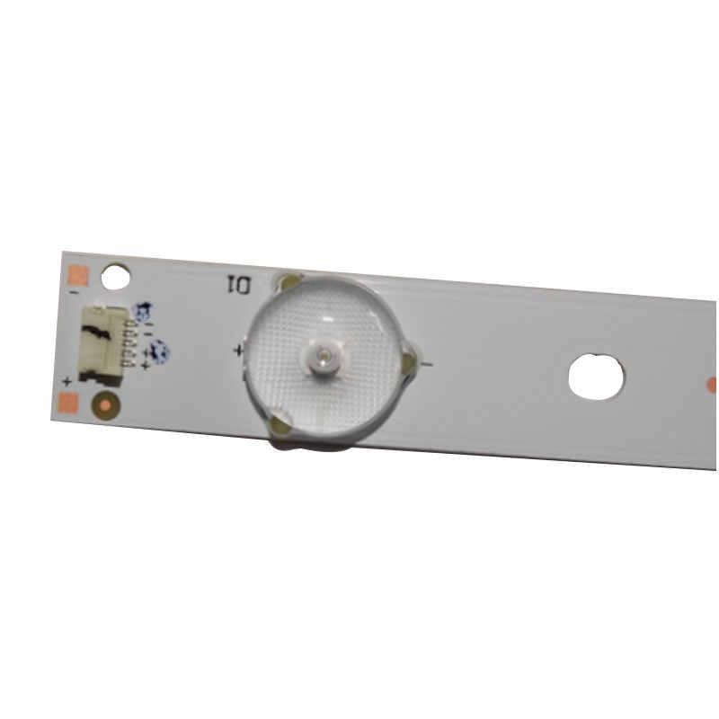 جديدة عالية ضوء حبة 32 بوصة 65 بوصة lcd tv أدى ضوء بار/ضوء مصباح قطاع العالمي lcd الخلفية led tv عصا 650 طويل 9 أضواء
