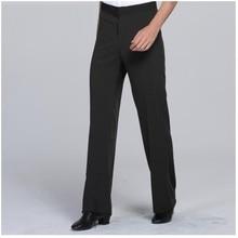 Mens Latin Dance Pants Adult National Standard Performance Pocket Trousers Classic Striped Plus Size  B-6972