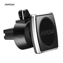 Mpow Magnetic Car Phone Holder Air Vent Outlet Rotatable Mount Universal Magnet Phone Mobile Holder For iphone Samsung stand(China)
