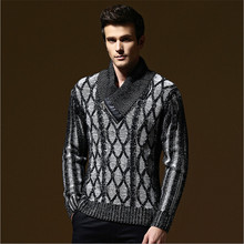 2017 Spring And Autumn New Fashion Men'S Sweater Business Men Solid Color O-Neck Neck Sweater Knit Pullover Men A2254