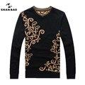 ШАН БАО бренд одежды 2017 новый мужской зимой толстые полноценно шерстяной свитер 50808
