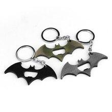 Superman Batman Keychains Bottle Opener Alloy Superhero Key Ring Holder
