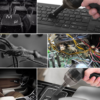 Portable Mini Handheld USB Keyboard Vacuum Cleaner Brush For Laptop Desktop PC Computer Dust Cleaners Tools
