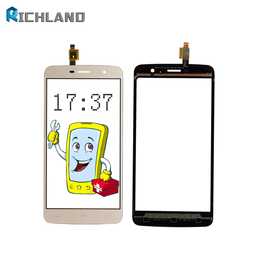 LCD For <font><b>Homtom</b></font> HT17 pro Touch Screen Digitizer Panel Lens Sensor Front Glass TP +Repair tools image