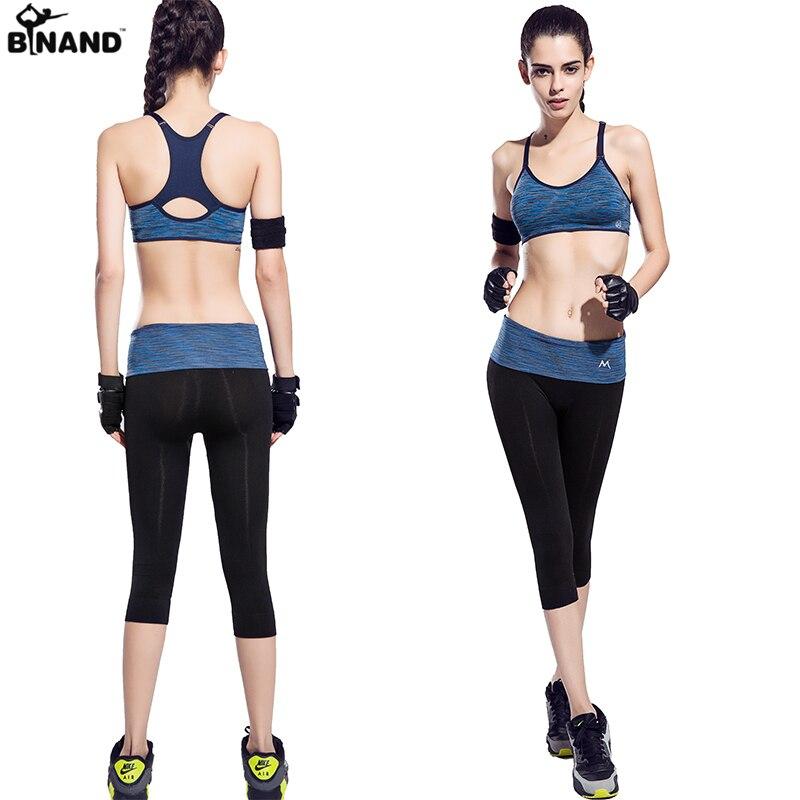 2018 las nuevas mujeres de Yoga Fitness sin fisuras Elasitic gimnasio  corriendo ropa deportiva conjuntos y correr culturismo Racerback trajes  para mujeres ... 6724315c12b2