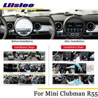 Liislee автомобильное мультимедиа андроид для Британского национального флага для дисков Mini Clubman/Clubvan R55 2007 ~ 2014 стерео радио аудио Carplay gps Nav Map на