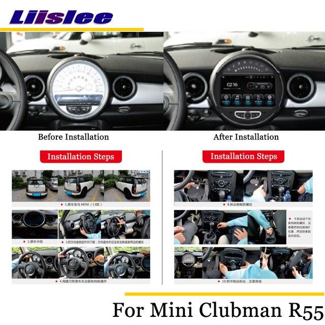 Liislee Car Android Multimedia For Mini Clubman Clubvan R55 2007
