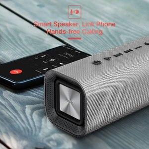Image 5 - HAVIT 휴대용 블루투스 스피커 야외 서브 우퍼 3D 스테레오 라우드 스피커 마이크가있는 무선 스피커 마이크 SD 카드 AUX M16