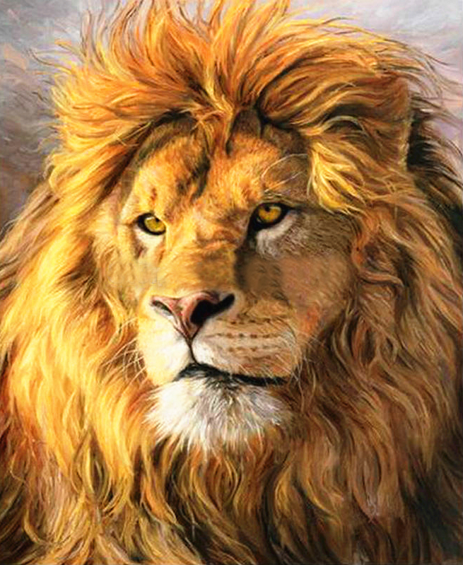 8k Animal Wallpaper Download: Needlework Full Embroidery Painting Cross Stitch Animal
