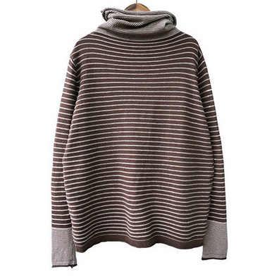 Новинка 2019, Повседневный пуловер с высоким воротом и длинным рукавом, свитер с цветочным принтом, одежда на осень/зиму, вязаные женские свитера