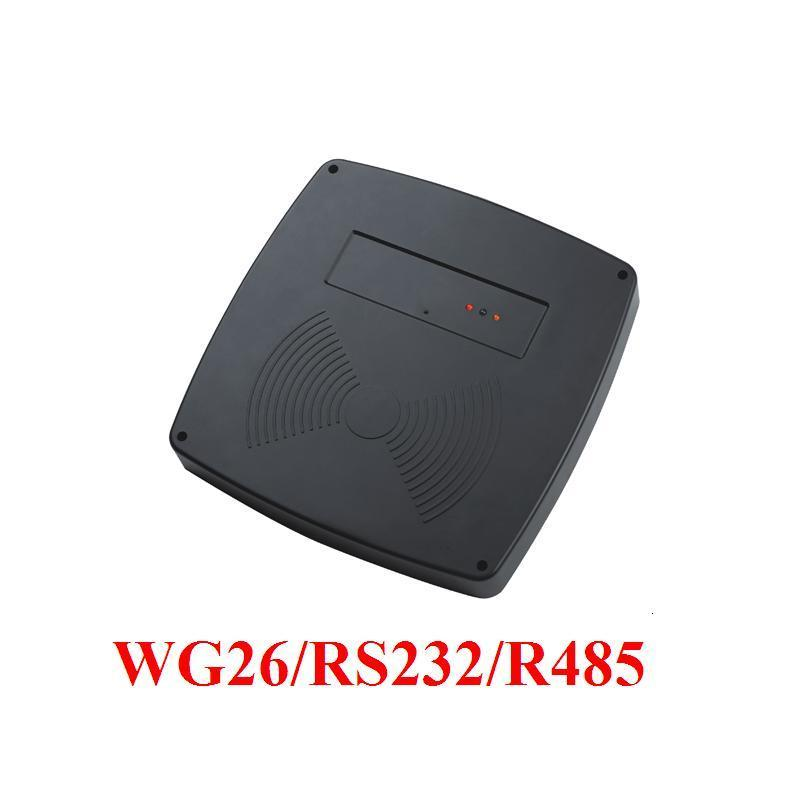 RS485 RS232 1M 3.28ft Middle Reading Distance Range 125KHz EM ID RFID Reader/access control long range reader tarjeta antenna reader self efficacy and reading instruction