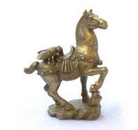 88006170 <<< kleine Collectibles Messing Fly & Horse Statuen-in Statuen & Skulpturen aus Heim und Garten bei