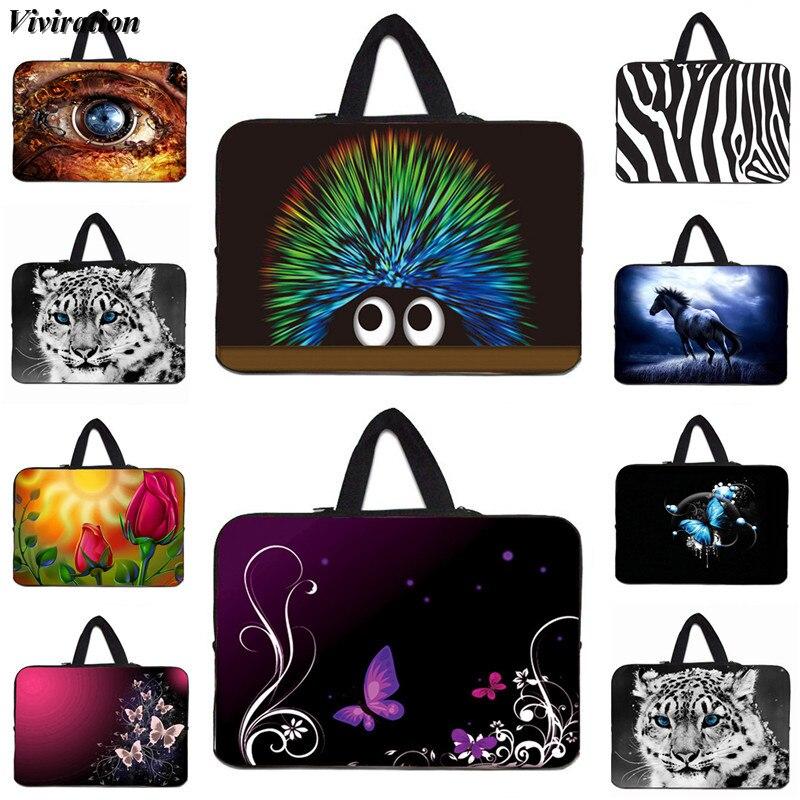 7 13 15 12 17 10 14 Inch Laptop Bag Viviration Handbag Computer Case 11.6 15.6 Inch Notebook Cover For Xiaomi Apple iPad Pro HP