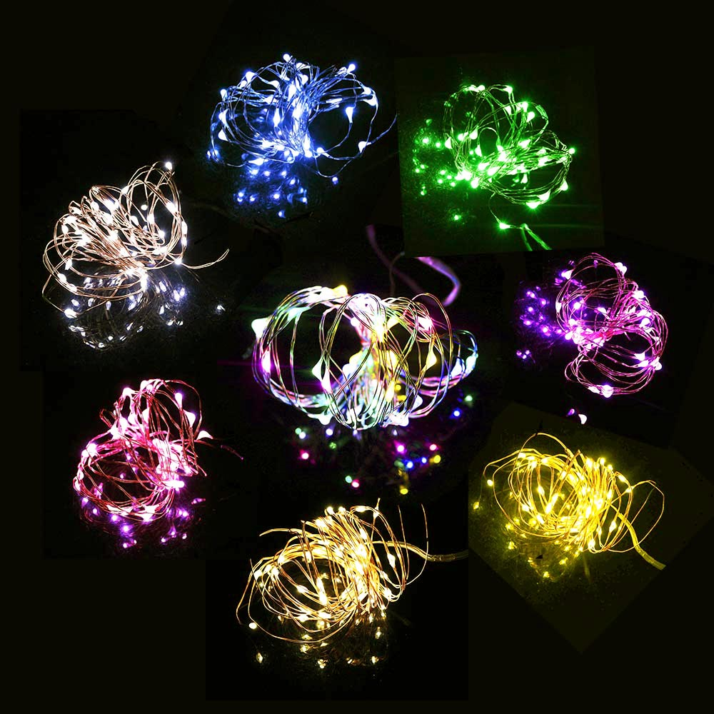 aliexpresscom buy 20 40leds copper led string lights 2 4meter party christmas tree valentines day holiday nightlight lantern waterproof trendy tr from - Valentine String Lights