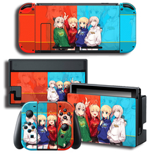 Vinyl Skin Protector Skins FATE Saber Skin Sticker for Nintendo Switch NS Console + Controller + Stand Holder Colour Sticker