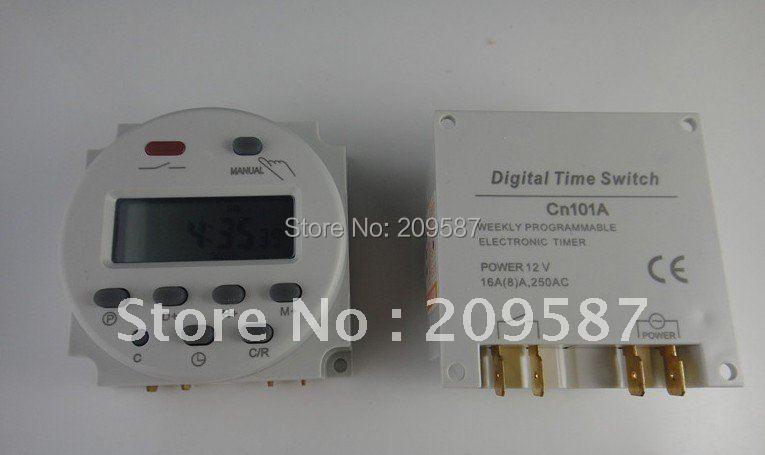 DC 24 V программируемый таймер реле времени 16A