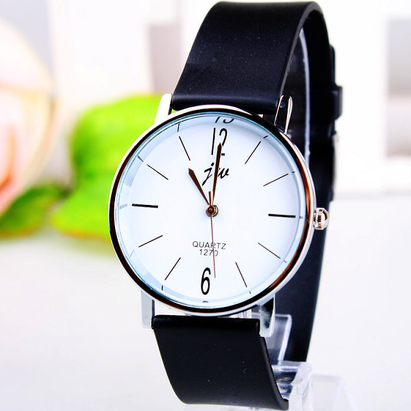 Fashion Jw Brand Casual Quartz Women Men Unsex Lovers Clock Leather Strap Student Watch Lover Wristwatches Relogio Masculino