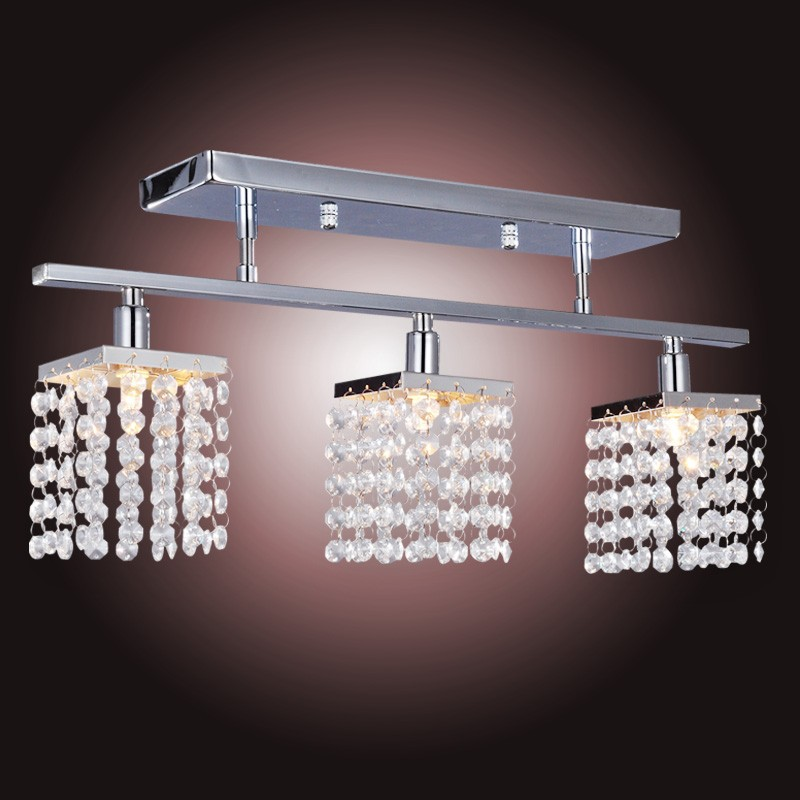 Crystal Chandelier With 3pcs G9 Lights Lamp Home Decoration Lighting Linear Design In Chandeliers From On Aliexpress Alibaba Group