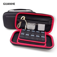 GUANHE Hard Drive SSD EVA Travel Portable Case Protective Case Storage Zip Storage Bag For Nintendo