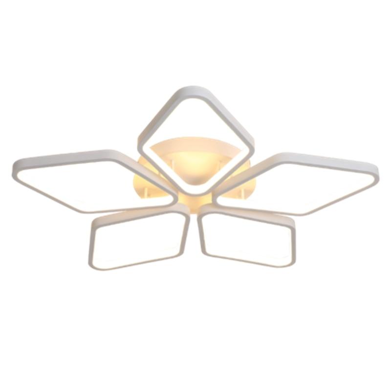 где купить LukLoy Postmodern Minimalist Ceiling Chandelier Lamp Creative Personality Nordic LED Living Room Bedroom Warm Romantic Lamp дешево