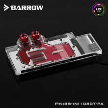Barrow BS INI1080T PA LRC RGB v1 v2 Full Cover Graphics Card Water Cooling Block for