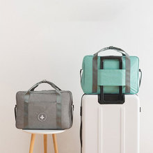 New Capacity Double Layer Beach Bag Portable Duffle Bag Packing Cube Weekend Bag New Cationic Fabric Waterproof Travel Bag Large