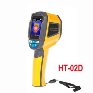 Image 4 - Xintest Handheld Thermische Camera Warmtebeeldcamera Ir Infrarood Thermometer Temperatuur Thermische Imaging Tool HT 02 HT 02D HT 18