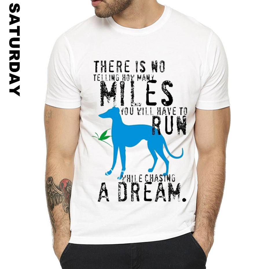Greyhound Dog Animal Pet Design Funny T Shirt for Men and Women,Unisex Breathable Graphic Premium T-Shirt Men's Streewear