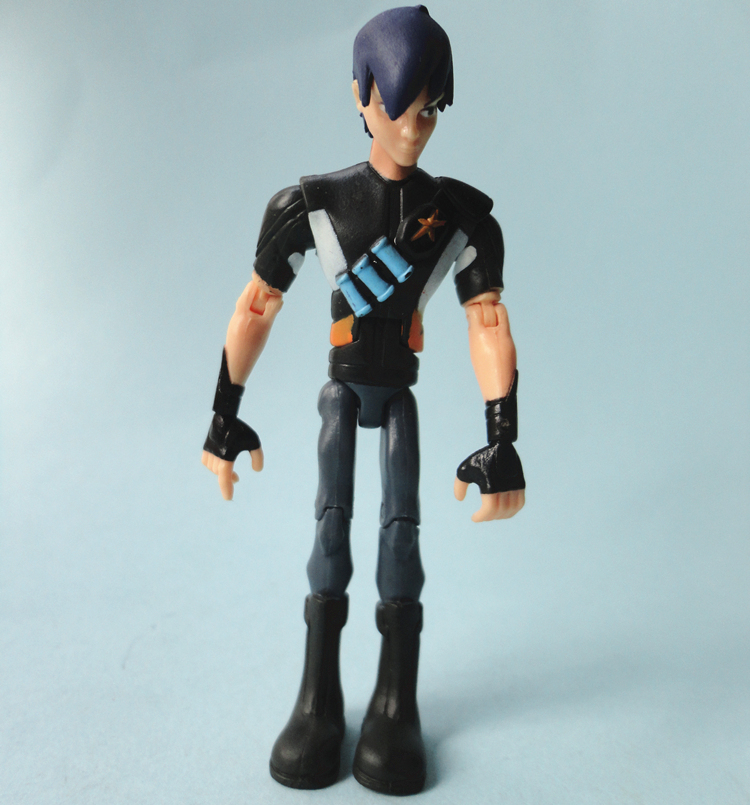 10cm Garage Kit Resin Kit Of Slugterra Action Figure Eli Shane, Lk-e(lucky), Dr. Blakk, El Diablos Nacho, Kord Zane Child Toy