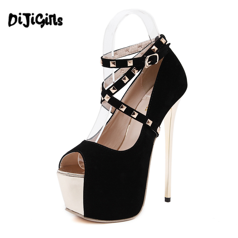 Studded Platform Pumps Promotion-Shop for Promotional Studded ...