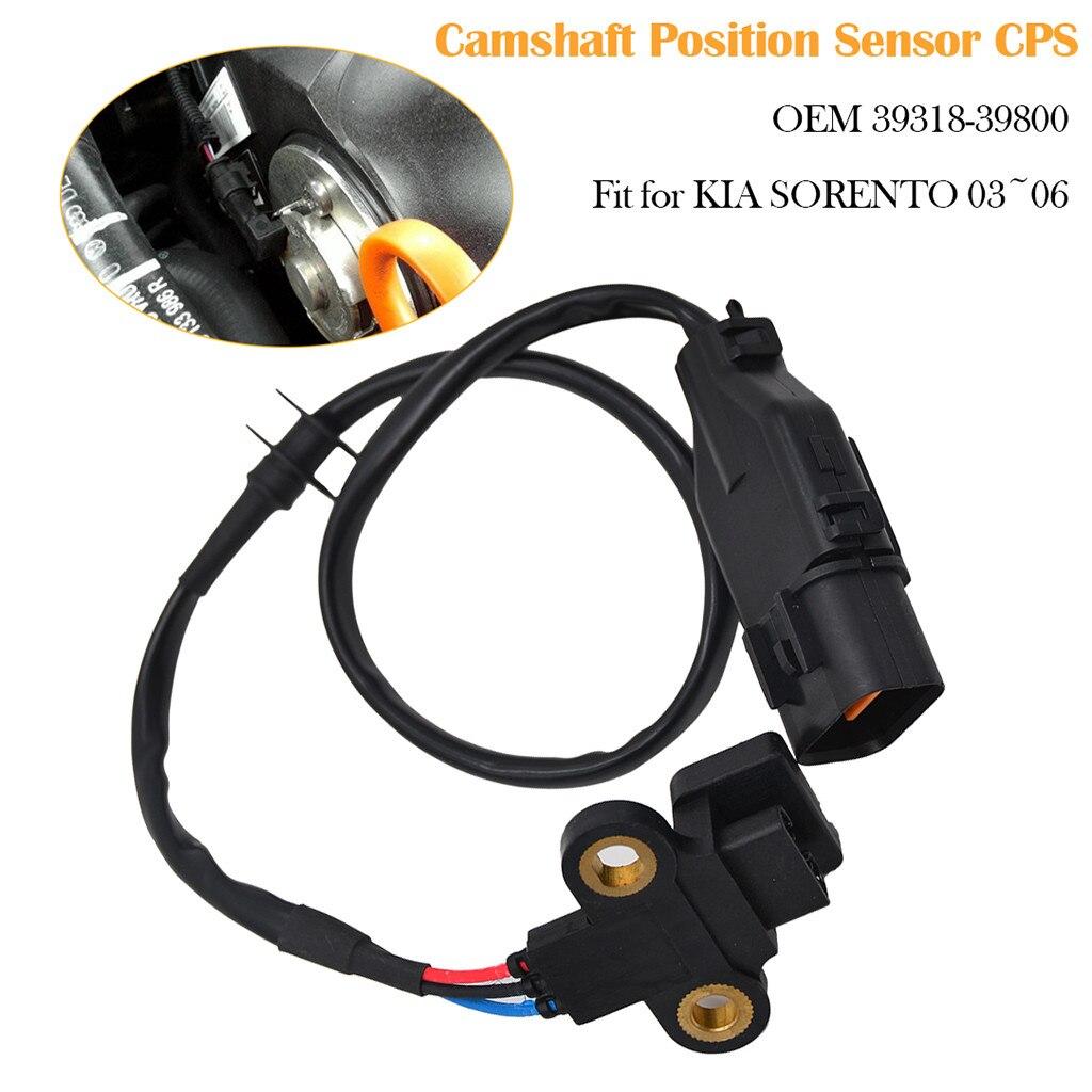 2x CAM Camshaft Position Sensor CPS Fit for 03-06 Kia Sorento 3.5L 39318-39800