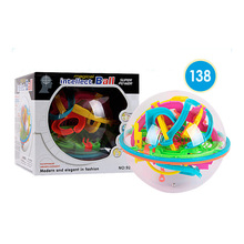 3D Maze Ball 138 Steps 925A Educational Magic Intellect Marble Puzzle Game Balance Toy for Kids