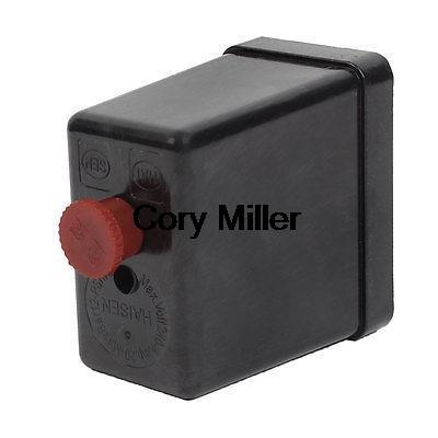 Air Compressor Accessory Pressure Switch Valve Housing Shell 240V 20A