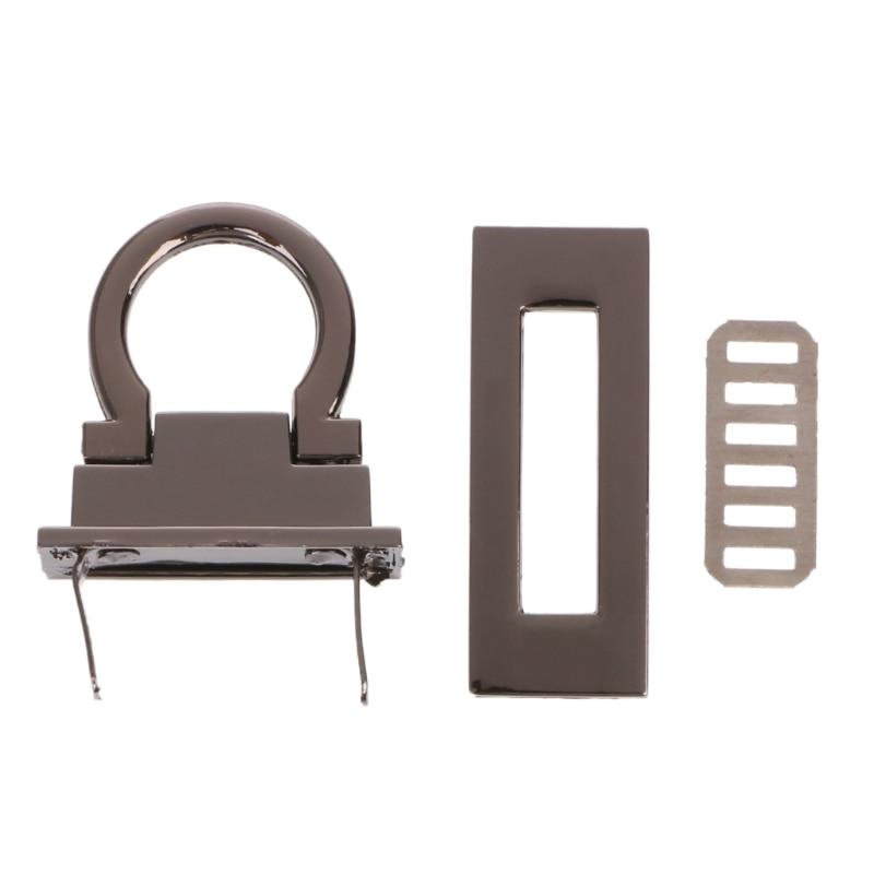 THINKTHENDO Metal Clasp Turn Twist Lock for DIY Craft Shoulder Bag Purse Handbag HardwareTHINKTHENDO Metal Clasp Turn Twist Lock for DIY Craft Shoulder Bag Purse Handbag Hardware