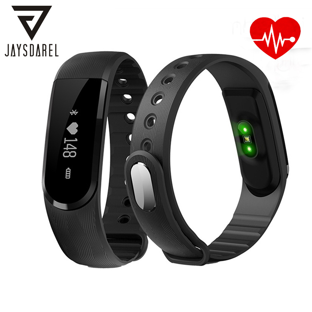 JAYSDAREL ID101 HR Heart Rate Smart Watch Sport Multi-sport Modes Fitness Tracker Smart Bracelet for Android iOS Phone jaysdarel u80 bluetooth smart watch sport fitness bracelet wearable device 1 44 inch smartwach for android ios pk u8 gt08 dz09