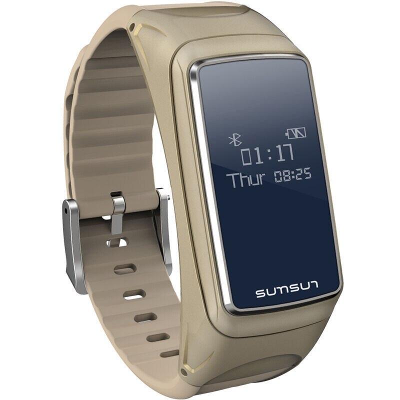 New Smart Bracelet Bluetooth Earset Style Heart Rate Monitor Smart Bracelet Pulsera Inteligente Waterproof Smart Band