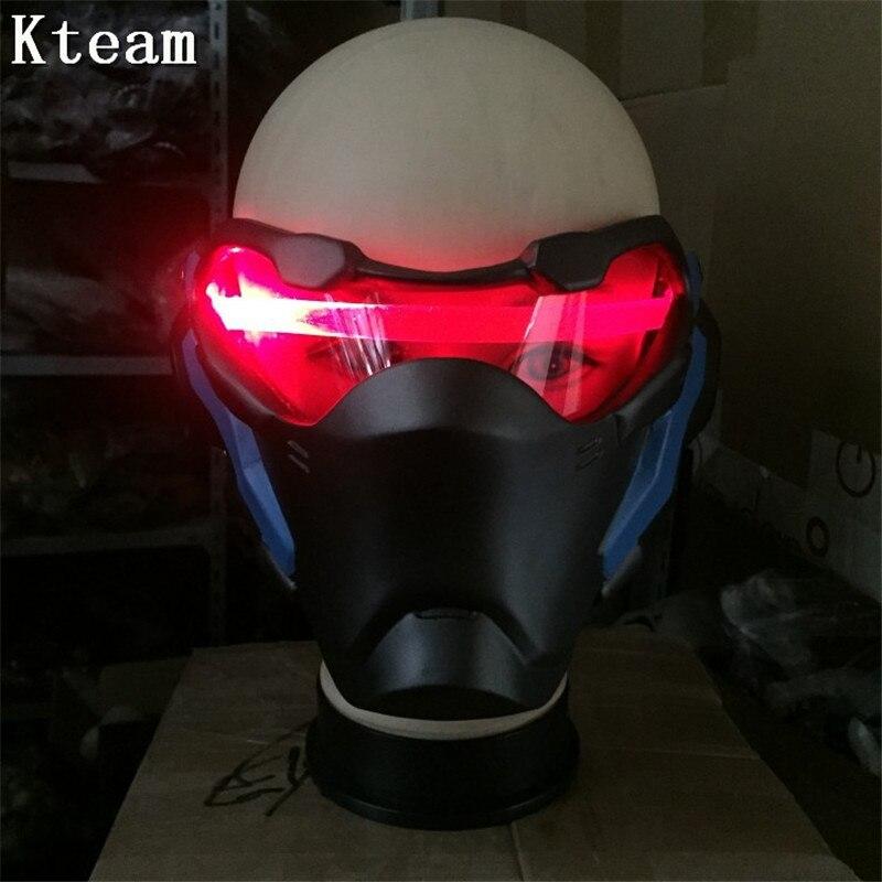 Haut de gamme jeu brillant masque sur-montre soldat: 76 OW Jack Morrison masque Cosplay casque Halloween PVC masque accessoires Costume jouet