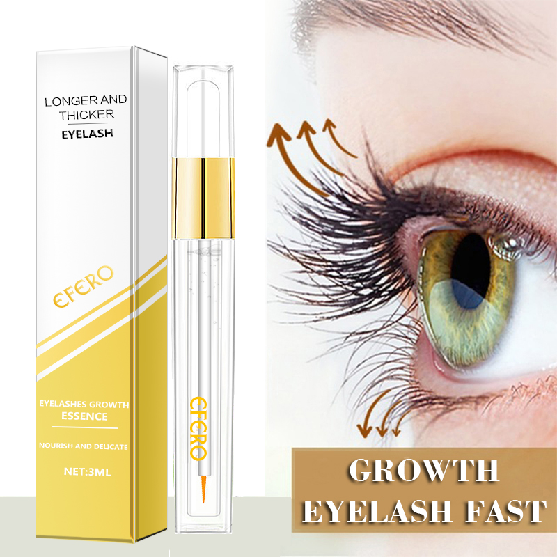 Eyelash Enhancer Powerful Eyelash Growth Treatment Serum Essence Eye Lash Eyebrow Natural Longer Thicker Essential Oil Eye Care