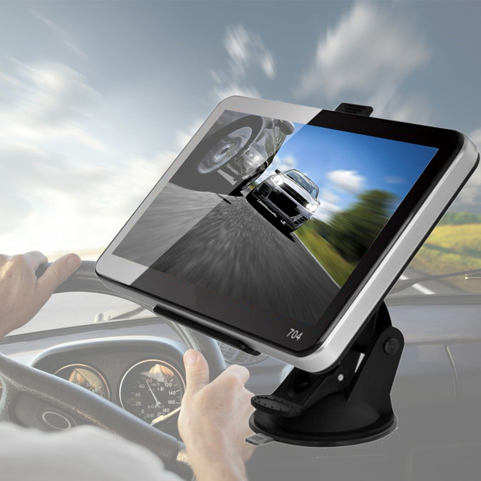 Professional New Car-Styling 7'' Car Truck GPS Navigation+Wireless Rearview Camera Bluetooth 4GB US Map For Automobiles Hot learning carpets us map carpet lc 201
