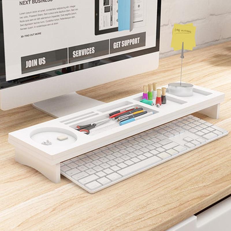 organizers workspace shelf com dp amazon black home organizer desk fitueyes kitchen wood