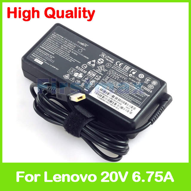 US $25 59 |Slim 20V 6 75A 135W ac adapter for Lenovo ThinkCentre M720 M720q  M900x M910q M910x M920 M920q M920x Tiny desktop pc power supply-in Laptop