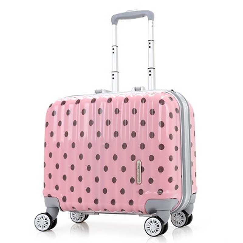 Popularne Pink Lightweight Luggage- kupuj tanie Pink Lightweight ...
