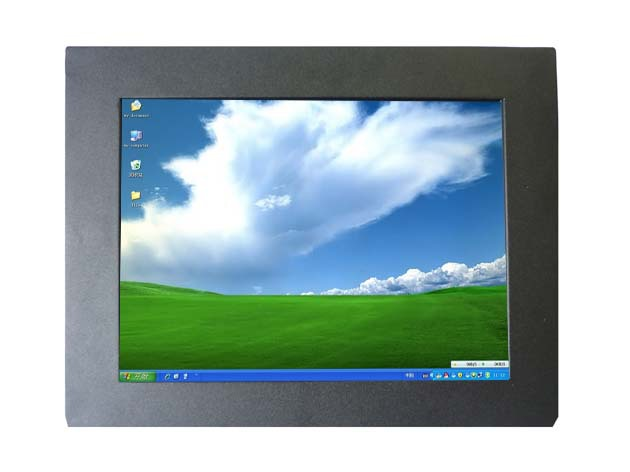 Tout en un pc avec 10 pouces cadre ouvert moniteur à écran tactile industriel moniteur pour l'application + livraison rapide