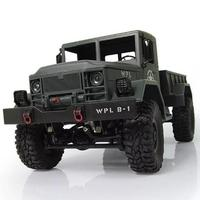 New 1:16 Scale RC Rock Crawler Off Road 4WD Military Truck RTR Remote Control Car Toy for Children