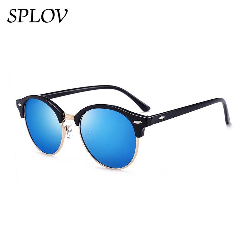 100% Wahr Halb Metall Sonnenbrille Männer Frauen Marke Designer Gläser Spiegel Sonnenbrille Mode Gafas Oculos De Sol Uv400 Klassische N03