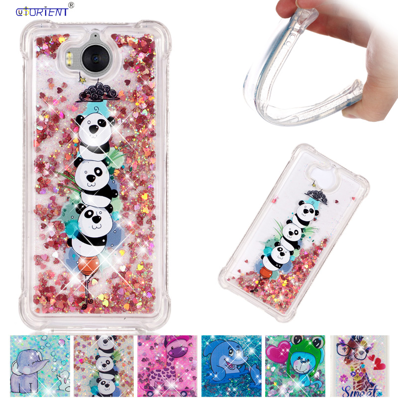 Cellphones & Telecommunications Steady Back Case For Huawei Y5 2017 Y6 2017 Mya-u29 Dynamic Liquid Glitter Bling Sand Soft Tpu Phone Case Mya-l22 Mya-l41 Mya-l11 Funda To Win A High Admiration And Is Widely Trusted At Home And Abroad.