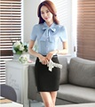 Ladies Formal OL Styles Professional Business Office Suits With Blouses And Skirts Female Work Wear Skirt Set