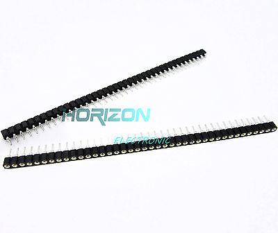 10PCS PCB Panel Female IC Breakable 2.54mm 40pin Single