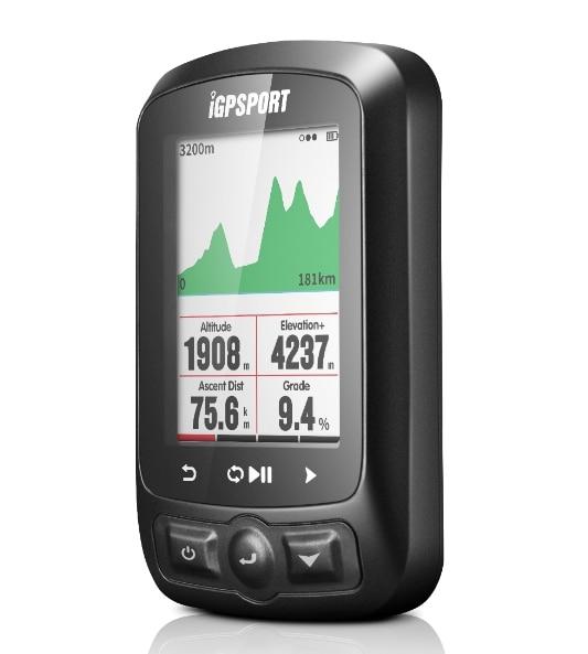 IGPSPORT ANT + GPS IGS618 bicicleta inalámbrico Bluetooth cronómetro velocímetro impermeable IPX7 ciclismo bicicleta velocímetro de la computadora