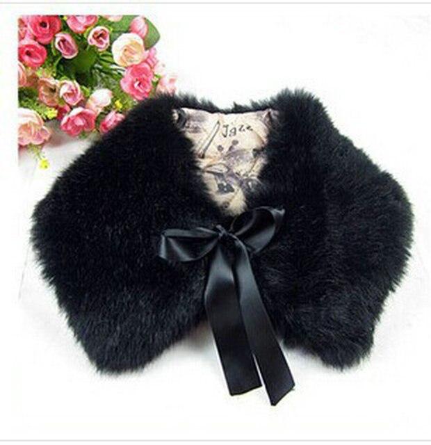 Бесплатная доставка новый искусственный шерсти волос кролика искусственный мех воротники поддельные воротник